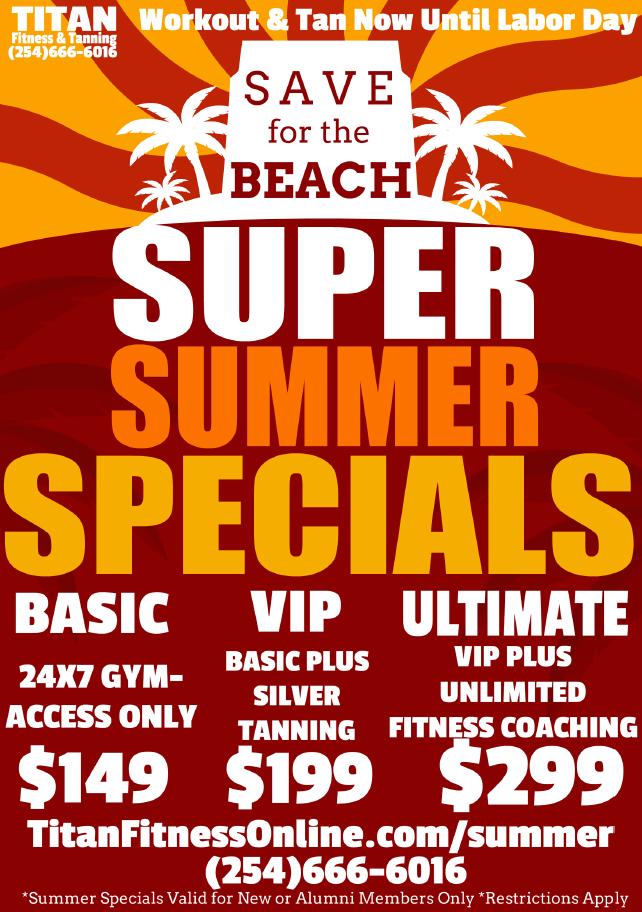 Titan Fitness Summer Specials