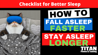 Checklist for Better Sleep